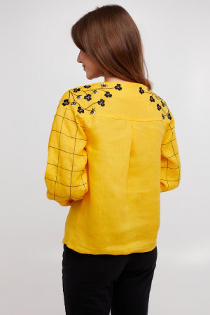 Вишиванка «Златослава» жовтого кольору