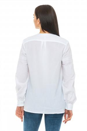 Вишиванка «Марта-батист» білого кольору