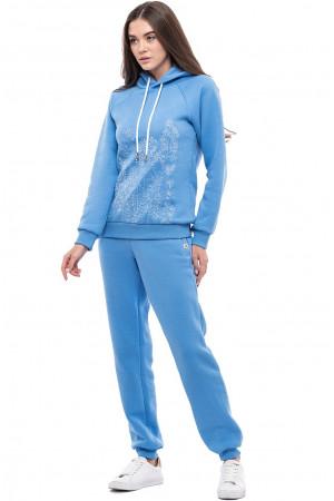 Штани «Різнотрав'я» блакитного кольору
