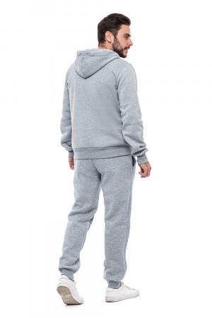 Мужские штаны «Орест» цвета светло-серый меланж