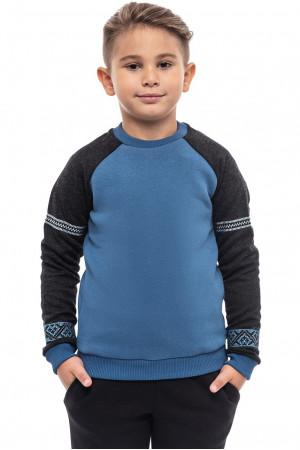 Світшот для хлопчика «Вишезор» блакитного кольору