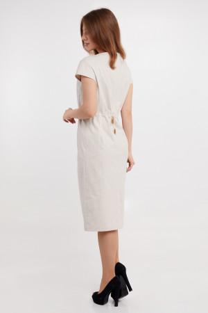Платье «Есения» бежевого цвета