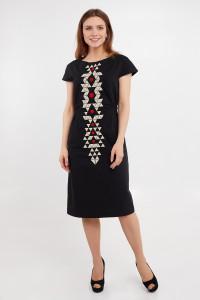 Сукня «Єсенія» чорного кольору