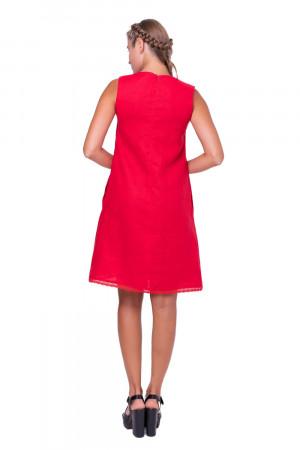 Сарафан «Ода» красного цвета
