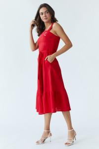 Сарафан «Літо» червоного кольору