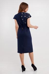 Сукня «Веліна» темно-синього кольору