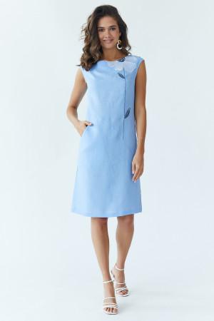 Сукня «Східна квітка» блакитного кольору