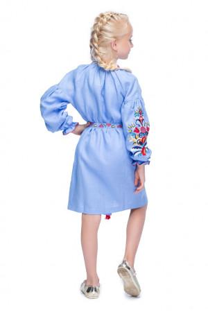 Сукня для дівчинки «Сона» блакитного кольору