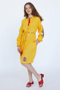 Сукня для дівчинки «Сона» жовтого кольору