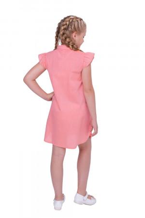 Сукня для дівчинки «Агнія» коралового кольору