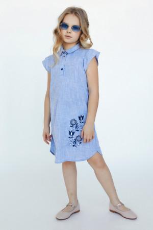Сукня для дівчинки «Агнія» блакитного кольору