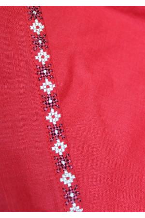Платье «Ружа» красного цвета