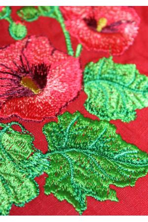 Платье «Мальва» красного цвета