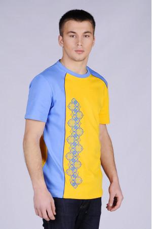 Футболка «Владислав» синьо-жовта