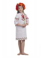 Платье для девочки «Калиновое намысто»