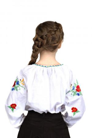 Вишиванка для дівчинки «Волошкове поле»