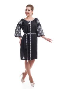 Сукня «Іванна» чорного кольору
