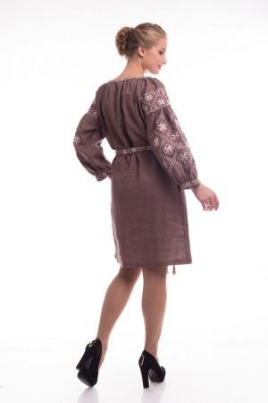 Сукня «Іванна» коричневого кольору