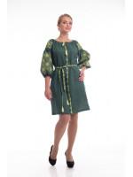 Платье «Иванна» зеленого цвета