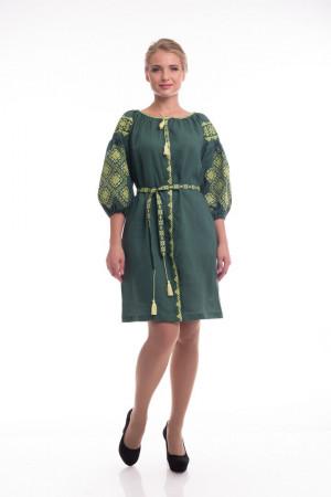 Сукня «Іванна» зеленого кольору