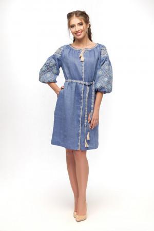 Платье «Иванна» голубого цвета