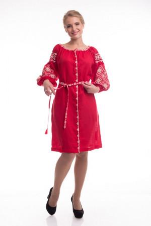 Платье «Иванна» красного цвета