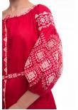 Сукня «Іванна» червоного кольору
