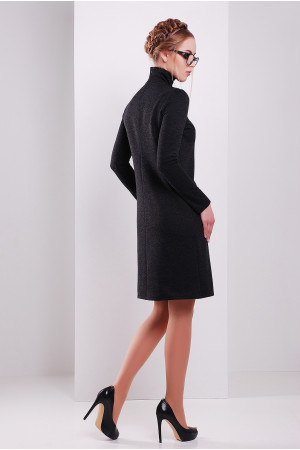 Платье «Славена» черного цвета