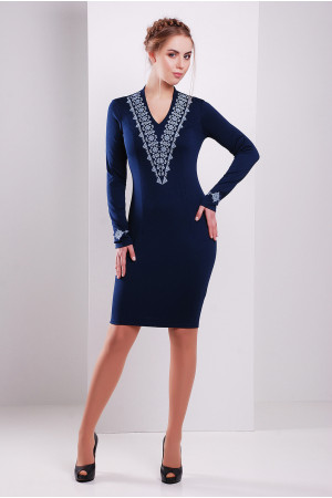 Сукня «Агнія» синього кольору