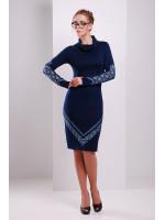 Сукня «Любомила» синього кольору