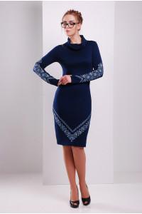 Платье «Любомила» синего цвета