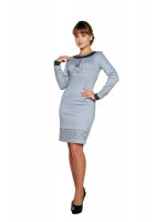 Сукня «Маланка» сірого кольору