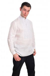Вишиванка «Добромисл» білого кольору