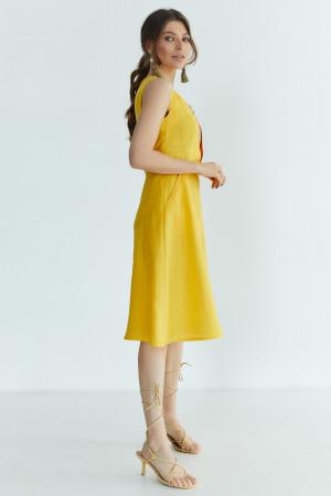 Сукня «Горяна» жовтого кольору