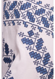 Вишиванка «Біляра» з синьо-блакитним орнаментом