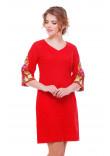 Сукня «Півонії» червоного кольору