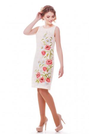 Платье «Ромашковое поле» молочного цвета