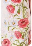 Сукня «Ромашкове поле» молочного кольору