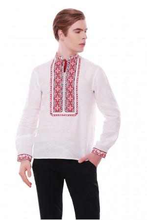 Вишиванка  «Мирослав» білого кольору