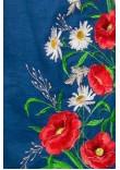 Сукня «Ромашкове поле» синього кольору