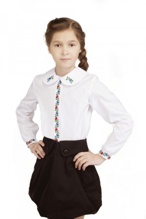Вышиванка для девочки «Ласкавица»