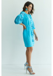 Сукня «Лучезара» бірюзового кольору