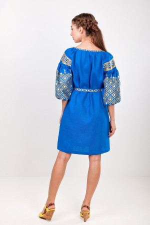 Сукня «Лучезара» кольору індиго