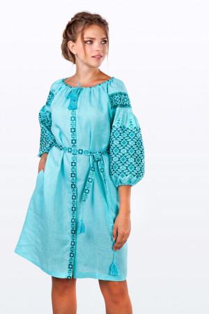 Сукня «Лучезара» м'ятного кольору