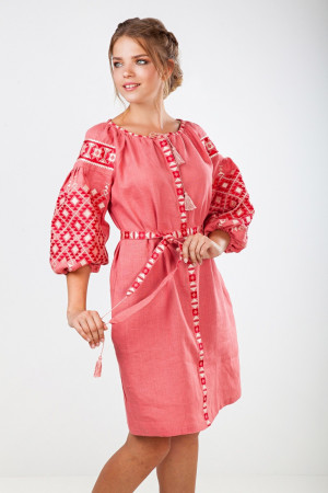 Платье «Лучезара» цвета чайной розы