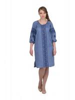 Платье «Сокальское» цвета джинс