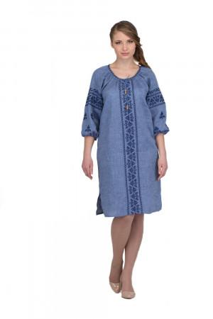 Сукня «Сокальська» кольору джинс