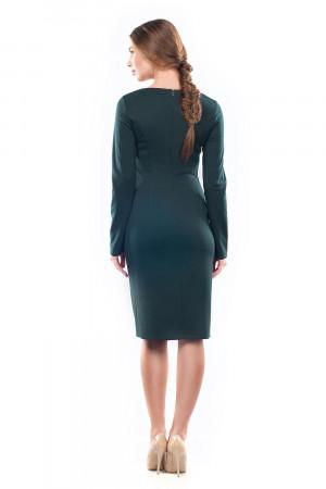 Сукня «Златоцвіта» смарагдового кольору