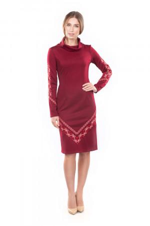 Сукня «Любомила» бордового кольору