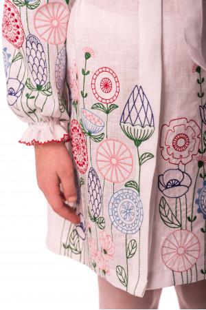 Платье для девочки «Олеся» белого цвета